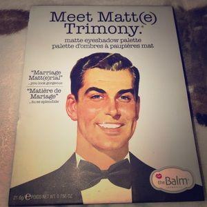 TheBalm Meet Matt(e) Trimony eyeshadow palette